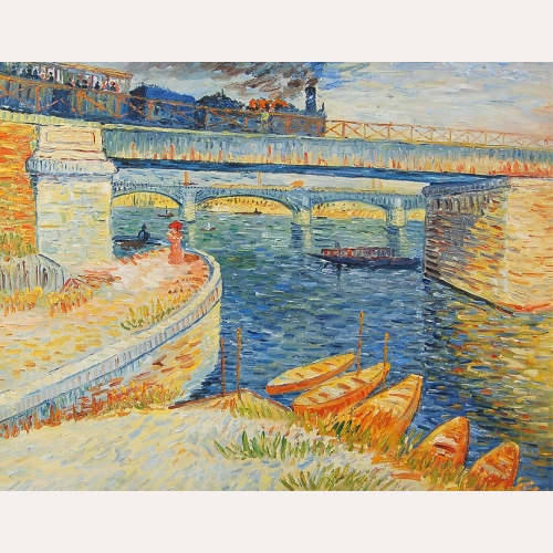 Most w Asnieres - Vincent van Gogh