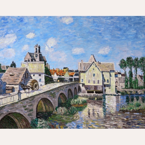 Most w Moret - Alfred Sisley